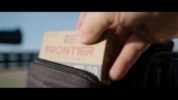 Hornady Frontier Cartridge TV Spot, 'American Made. Built on Tradition' - Thumbnail 3