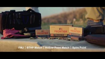 Hornady Frontier Cartridge TV Spot, 'American Made. Built on Tradition' - Thumbnail 9