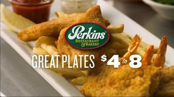 Perkins Restaurant & Bakery Great Plates TV Spot, 'New Dishes' - Thumbnail 3