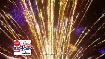 Six Flags July 4th Fest TV Spot, 'All-American Food Festival: Food & Games' - Thumbnail 7