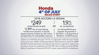 Honda Fourth of July Sales Event TV Spot, 'My Turn' [T2] - Thumbnail 9