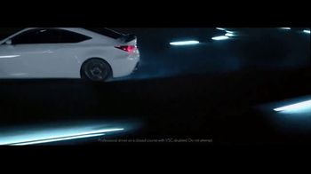 Lexus RC F TV Spot, 'The Path to Success' [T1] - Thumbnail 8