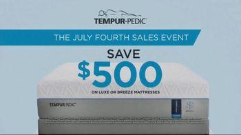 Tempur-Pedic July Fourth Sales Event TV Spot, 'Deep Sleep' - Thumbnail 8