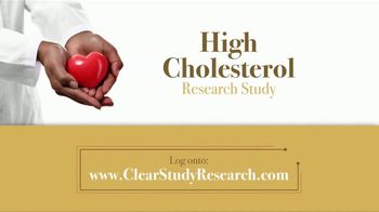 CLEAR Outcomes Study TV Spot, 'High Cholesterol Research Study' - Thumbnail 5