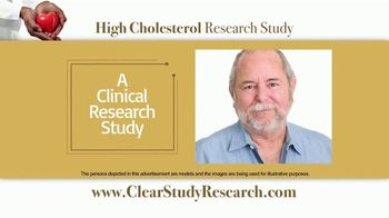 CLEAR Outcomes Study TV Spot, 'High Cholesterol Research Study'