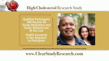 CLEAR Outcomes Study TV Spot, 'High Cholesterol Research Study' - Thumbnail 4