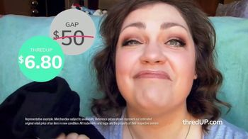 thredUP TV Spot, 'Secondhand and Sensational: 20 Percent Off' - Thumbnail 4