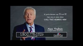 Colonial Penn TV Spot, 'Four Important Numbers' Featuring Alex Trebek - Thumbnail 2