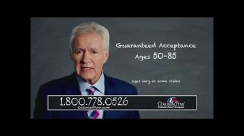Colonial Penn TV Spot, 'Four Important Numbers' Featuring Alex Trebek - 150 commercial airings