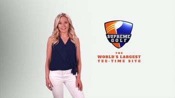 Supreme Golf TV Spot, 'More Deals and Courses Than Everyone Else Combined' - Thumbnail 1
