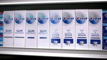Crest Gum Detoxify & Gum & Enamel Repair TV Spot, 'Irritated Gums' - Thumbnail 9