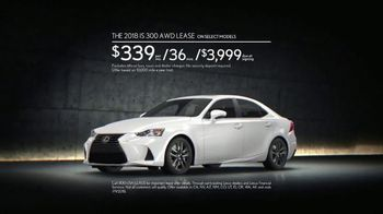 2018 Lexus IS TV Spot, 'The Engagement' Song by The Everyday Visuals [T2] - Thumbnail 9