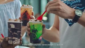 Dairy Queen Jurassic Chomp Blizzard TV Spot, 'Jurassic World' - 11238 commercial airings