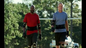 Copper Fit Advanced Back Pro TV Spot, 'When Legends Play' Featuring Brett Favre - 8131 commercial airings