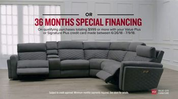 Value City Furniture 4th of July Sale TV Spot, 'Comfort and Value' - Thumbnail 8