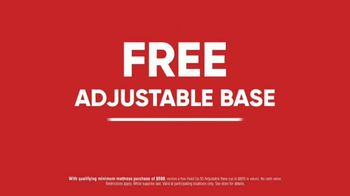 Mattress Firm 4th of July Sale TV Spot, 'Adjustable Base Deal' - Thumbnail 2