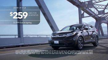 2018 Honda CR-V TV Spot, 'Samanta' - Thumbnail 9