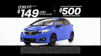 Honda 4th of July Sales Event TV Spot, 'Act Fast' [T2] - Thumbnail 5