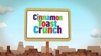 Cinnamon Toast Crunch TV Spot, 'Ultimate Road Trip Snack' - Thumbnail 6