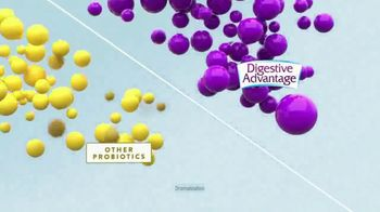 Schiff Digestive Advantage Probiotics TV Spot, '100 Times Better' - Thumbnail 6