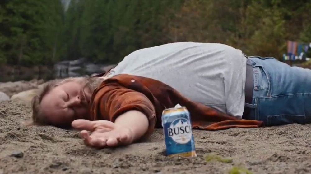 Busch Beer TV Commercial, 'Bear: Cold Activated Cans' - Video