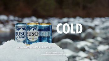 Busch Beer TV Spot, 'Bear: Cold Activated Cans' - Thumbnail 9
