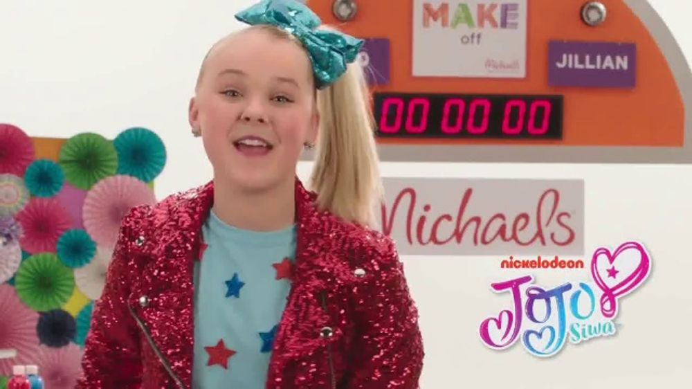Michaels TV Commercial Nickelodeon JoJo Siwa Decorates A Shirt