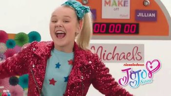 Michaels TV Spot, 'Nickelodeon: JoJo Siwa Decorates a Shirt' - Thumbnail 1