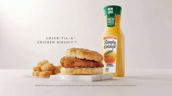 Chick-fil-A Chicken Biscuit TV Spot, 'Smart Cowz' - Thumbnail 10