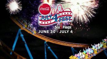 Six Flags July 4th Fest TV Spot, 'All-American Food Festival' - Thumbnail 2