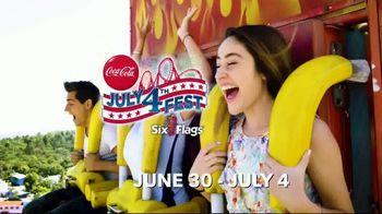 Six Flags July 4th Fest TV Spot, 'All-American Food Festival' - Thumbnail 4