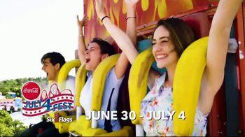 Six Flags July 4th Fest TV Spot, 'All-American Food Festival' - Thumbnail 5