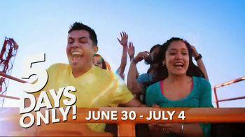 Six Flags July 4th Fest TV Spot, 'All-American Food Festival' - Thumbnail 6