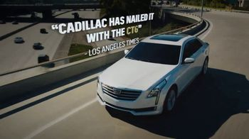 2018 Cadillac CT6 TV Spot, 'Believe the Hype' Song by Barns Courtney