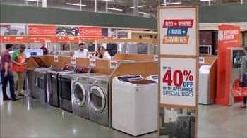 The Home Depot Red, White & Blue Savings TV Spot, 'Kitchen Suite' - Thumbnail 5