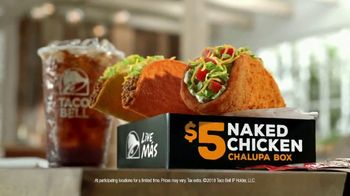 Taco Bell $5 Naked Chicken Chalupa Box TV Spot, 'Breaking Tradition'
