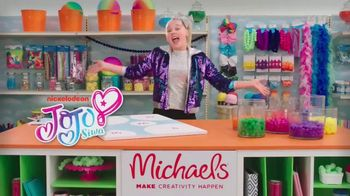 Michaels TV Spot, 'Nickelodeon: Goblies' Featuring JoJo Siwa