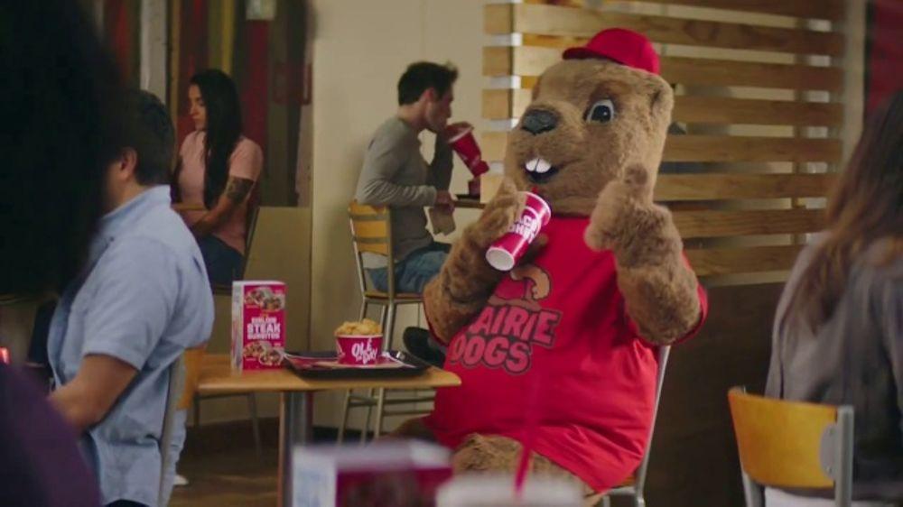Taco John's Sirloin Steak Burrito TV Commercial, 'Mascot'