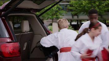 2018 GMC Acadia SLT-2 AWD TV Spot, 'Third Row Like a Pro: Karate' [T2] - Thumbnail 4