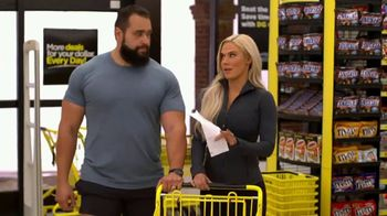 Dollar General TV Spot, 'Snickers: Shopping Trip' Ft. Lana and Rusev - 28 commercial airings