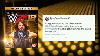 WWE 2K19 TV Spot, 'AJ Styles: Million Dollar Challenge' Featuring AJ Styles - Thumbnail 6