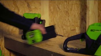 GreenWorks Pro 60-Volt 24-Inch Hedge Trimmer TV Spot, 'Beyond the Ordinary' - Thumbnail 3