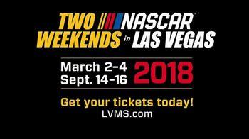 Las Vegas Motor Speedway TV Spot, '2018 Two NASCAR Weekends in Vegas' - Thumbnail 1