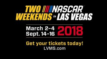 Las Vegas Motor Speedway TV Spot, '2018 Two NASCAR Weekends in Vegas'