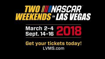 Las Vegas Motor Speedway TV Spot, '2018 Two NASCAR Weekends in Vegas' - Thumbnail 6