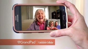 Consumer Cellular GrandPad TV Spot, 'Families are Meant to Be Close' - Thumbnail 3