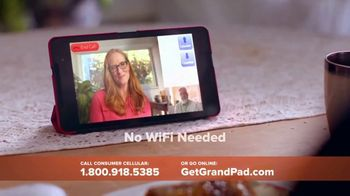 Consumer Cellular GrandPad TV Spot, 'Families are Meant to Be Close' - Thumbnail 4