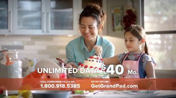 Consumer Cellular GrandPad TV Spot, 'Families are Meant to Be Close' - Thumbnail 7