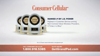 Consumer Cellular GrandPad TV Spot, 'Families are Meant to Be Close' - Thumbnail 8