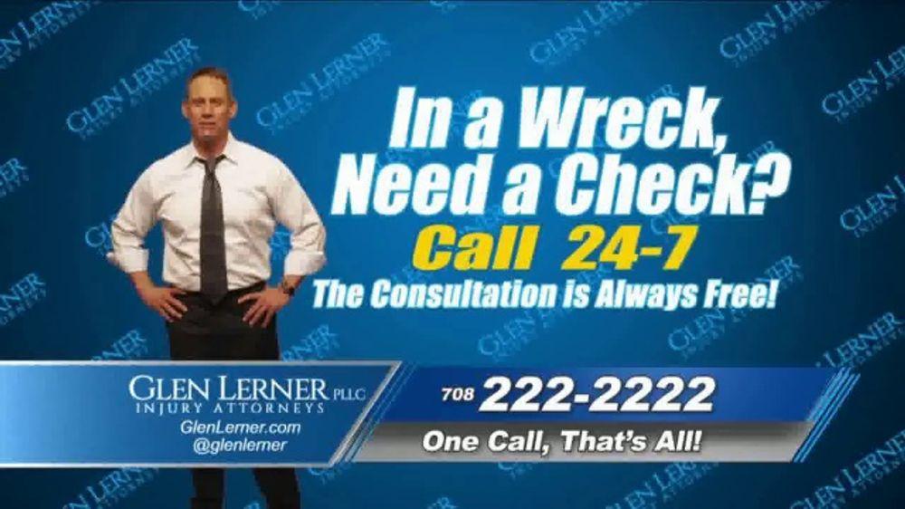 glen lerner tv commercial dont let a car wreck ruin your life ispottv